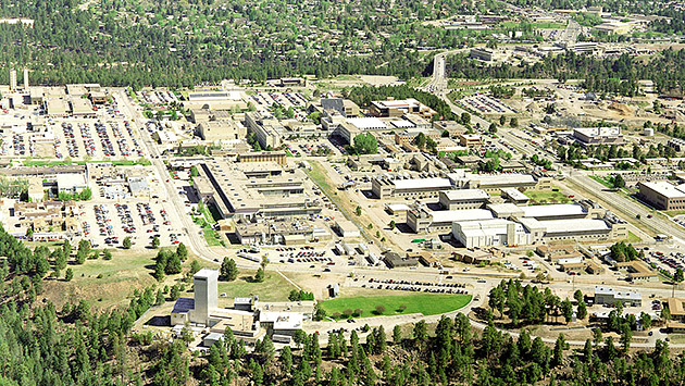 Los Alamos National Laboratory aerial shot